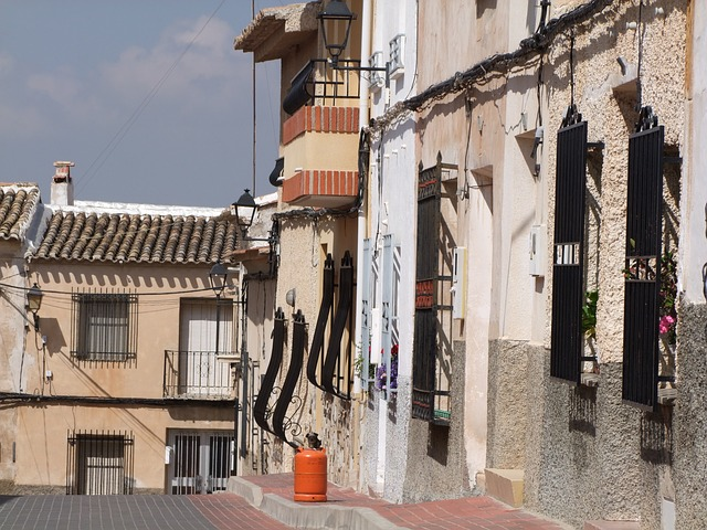 Gasflasche in Spanien